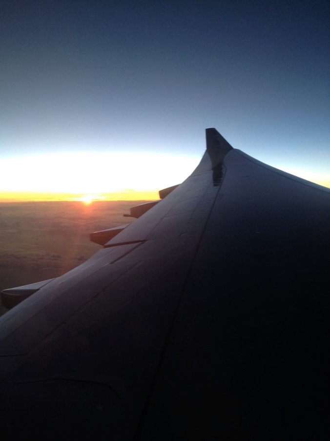 Sunset over the Pacific - June 20, 2014